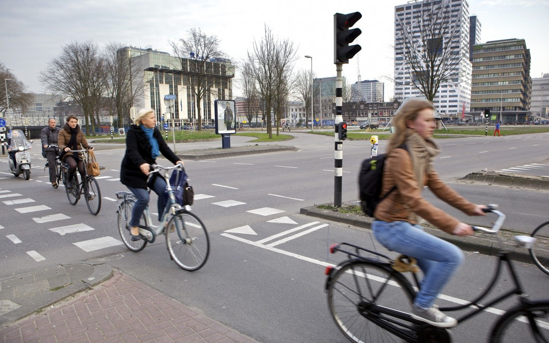 Fietsplaatje voor een fietsvriendelijker Utrecht