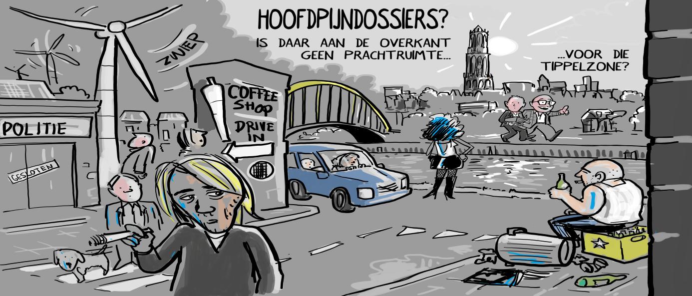 Leidsche Rijn, De Meern en Vleuten, stortplaats voor Utrechtse problemen
