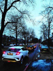 Utrechtse automobilist heeft last van verstoppingen!