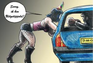 Geen subsidie voor raam- en straatprostitutie