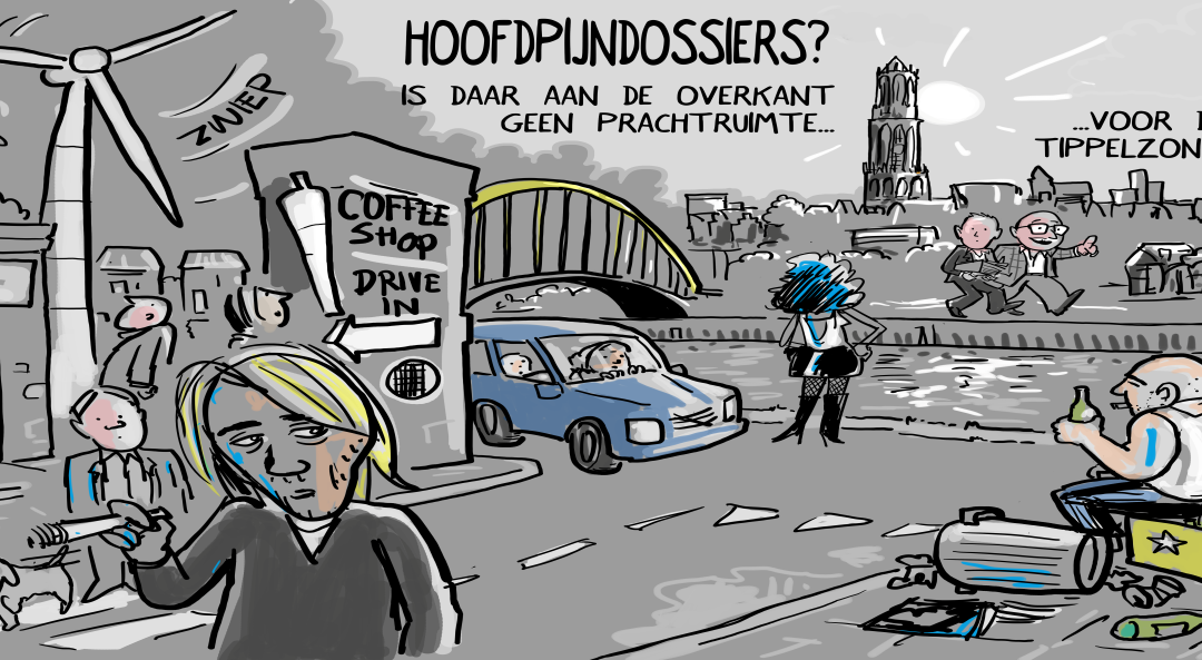 Leidsche Rijn, De Meern en Vleuten stortplaats voor Utrechtse problemen.